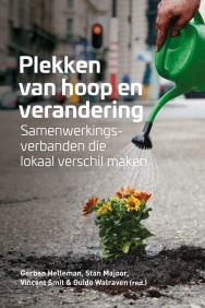 Cover Boek Plekken van hoop en verandering + redactie - Platform Stad en Wijk